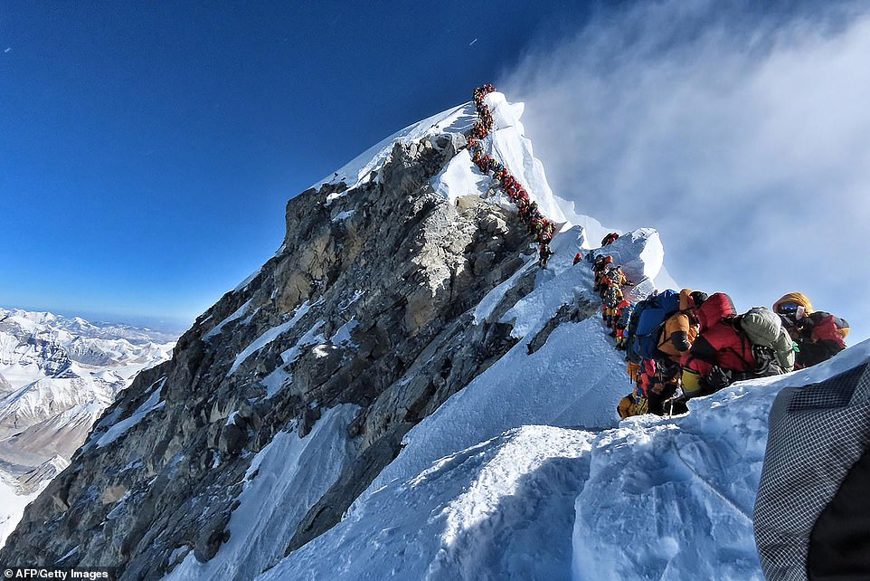 Everst,  selfie , chinh phục ngọn Everest