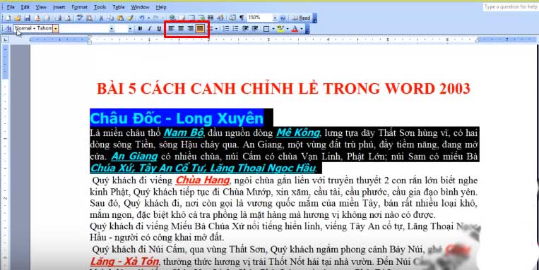 voh.com.vn-can-le-trong-word-1