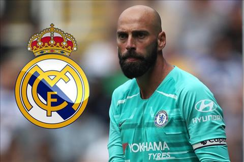 Real Madrid nhắm Willy Caballero thay Navas