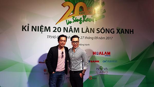 Nhạc sỹ Dương Khắc Linh và nhạc sỹ Nguyễn Hoàng Duy voh.com.vn