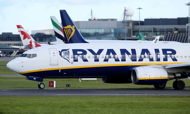 Ryanair huỷ chuyến bay