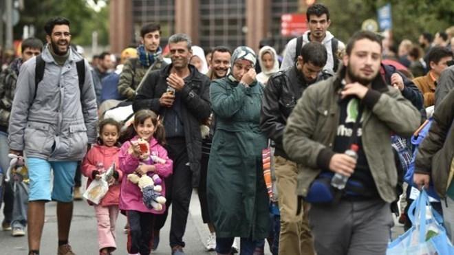 Châu Âu nhận người tị nạn