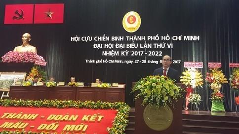 đại hội Hội Cựu Chiến BInh TPHCM voh.com.vn