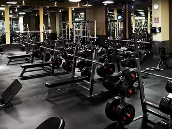 vi khuẩn ở các thiết bị tập gym