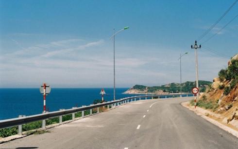 đường bộ ven biển tại Nghê An