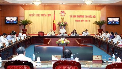 Chính phủ chuẩn bị cho họp Uỷ Ban Thường vụ Quốc Hội
