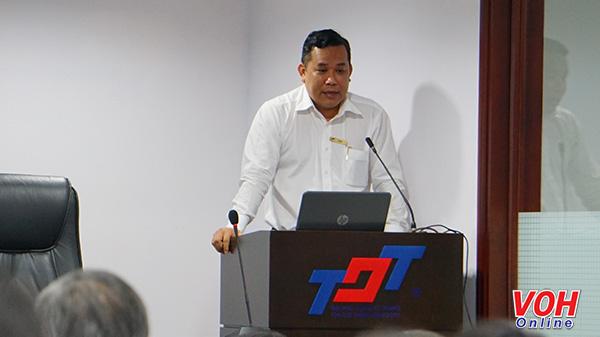 Tiến sĩ Lê Văn Út, Trưởng phòng Quản lý phát triển Khoa học và Công nghệ, Đại học Tôn Đức Thắng
