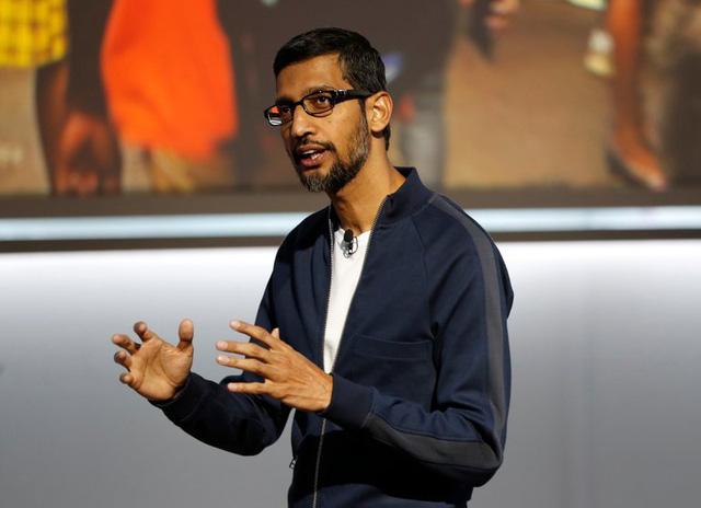 Ông Sundar Pichai, giám đốc điều hành Google