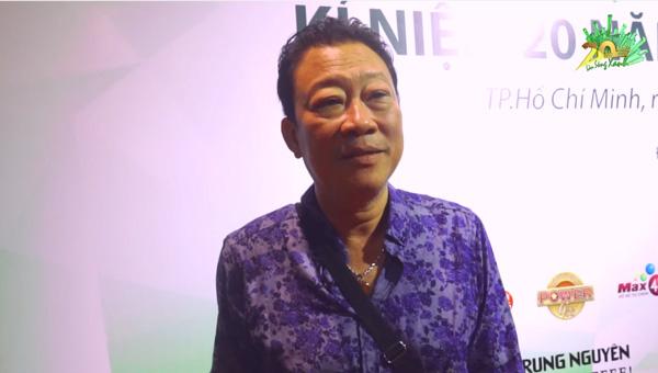 nhạc sĩ Lê Quang - tổng đạo diễn The Hits kỷ niệm 20 năm Làn Sóng Xanh