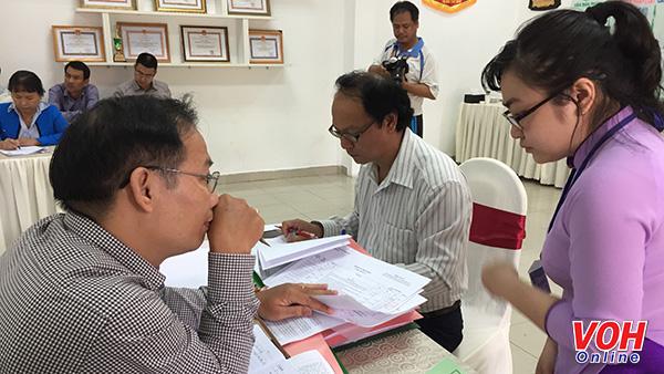 Buổi giám sát của UB MTTQ Việt Nam TPHCM về các khoản thu voh.com.vn