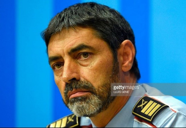 Cảnh sát trưởng vùng Catalunya Josep Luis Trapero