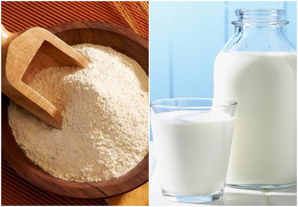 Sữa tươi còn có thể dưỡng ẩm và làm trắng da