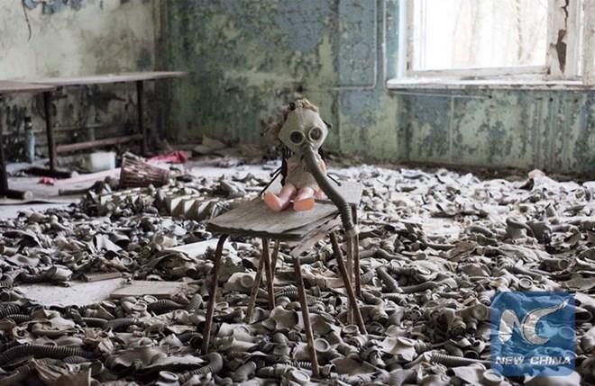 Kho lưu trữ chất thải hạt nhân sau thảm hoạ Chernobyl