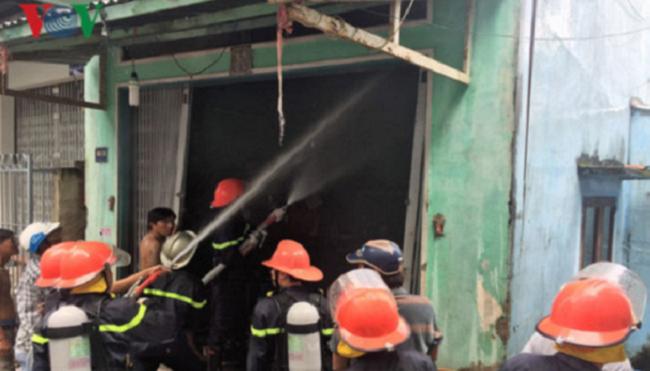 cháy nhà tại Cà Mau