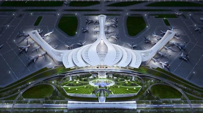Thiết kế sân bay Long Thành