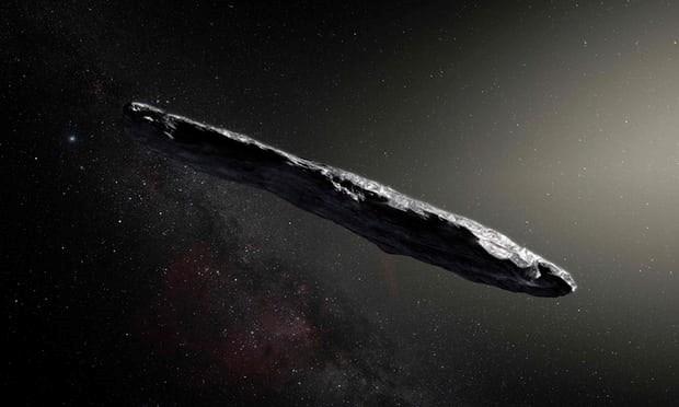 Phát hiện thiên thạch hình điếu xì gà đến từ một hệ Mặt Trời khác