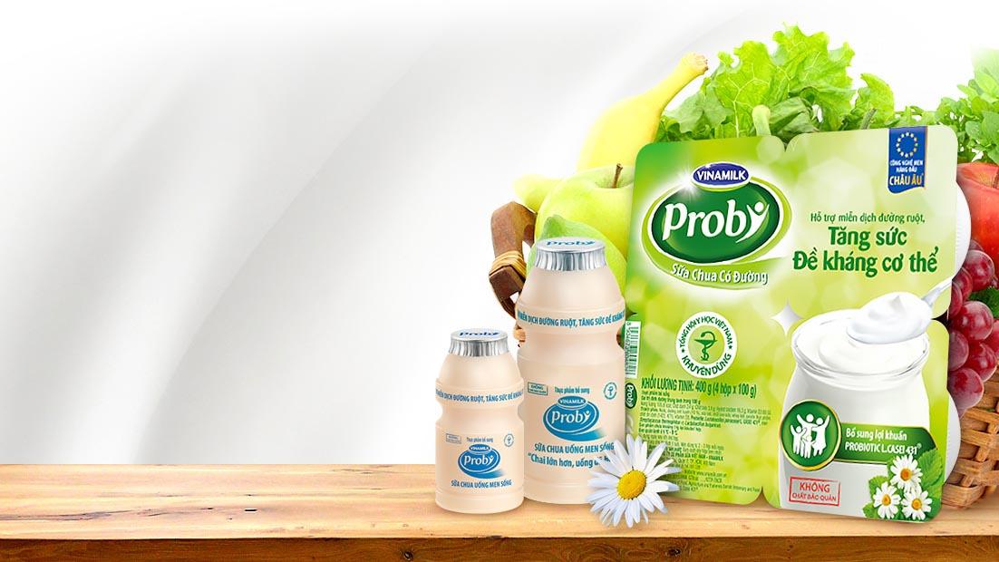Giảm cân, probiotics, probiotics là gì, sữa chua, Vinamilk