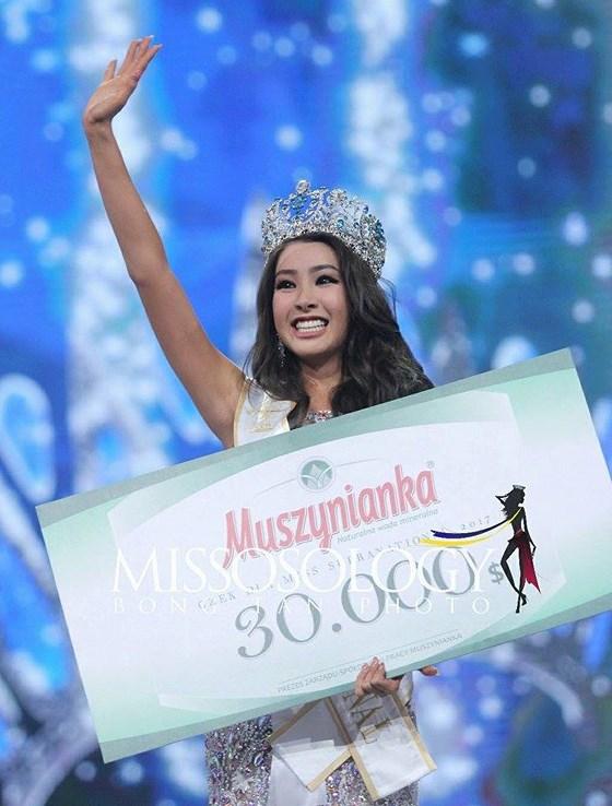 Miss Supranational 2017, Hoa hậu Siêu quốc gia, Khánh Phương, Hàn Quốc