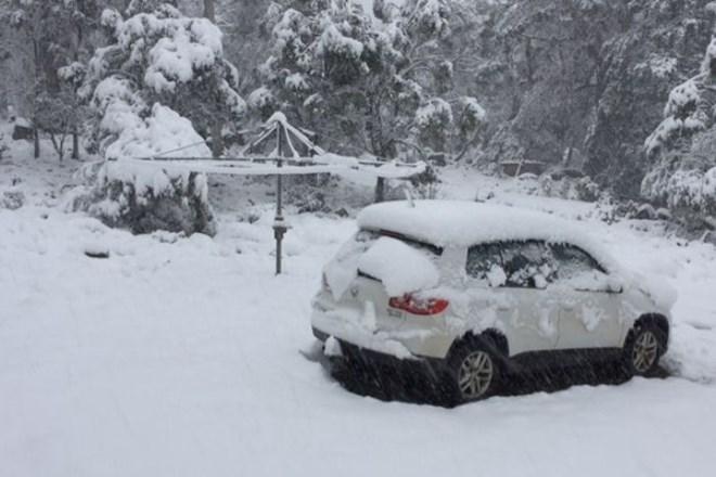 Tuyết rơi mùa hè ở Úc
