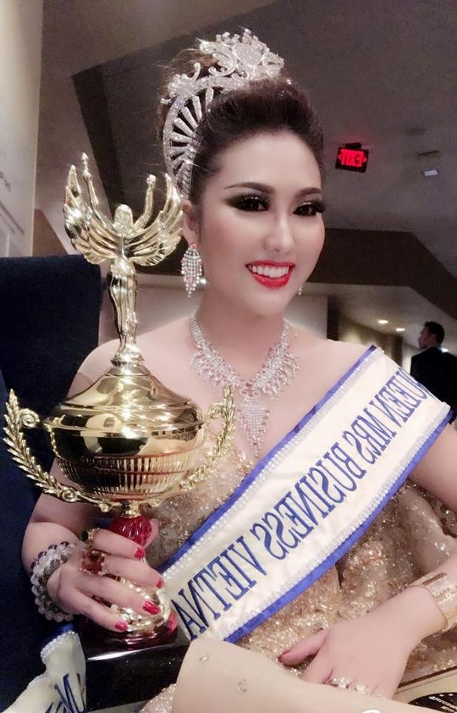 Phi Thanh Vân, Hoa hậu, Hoa hậu Doanh nhân Thế giới người Việt 2017 tại Mỹ