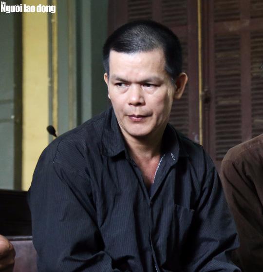 Bị cáo Nguyễn Văn Khải tại phiên tòa phúc thẩm