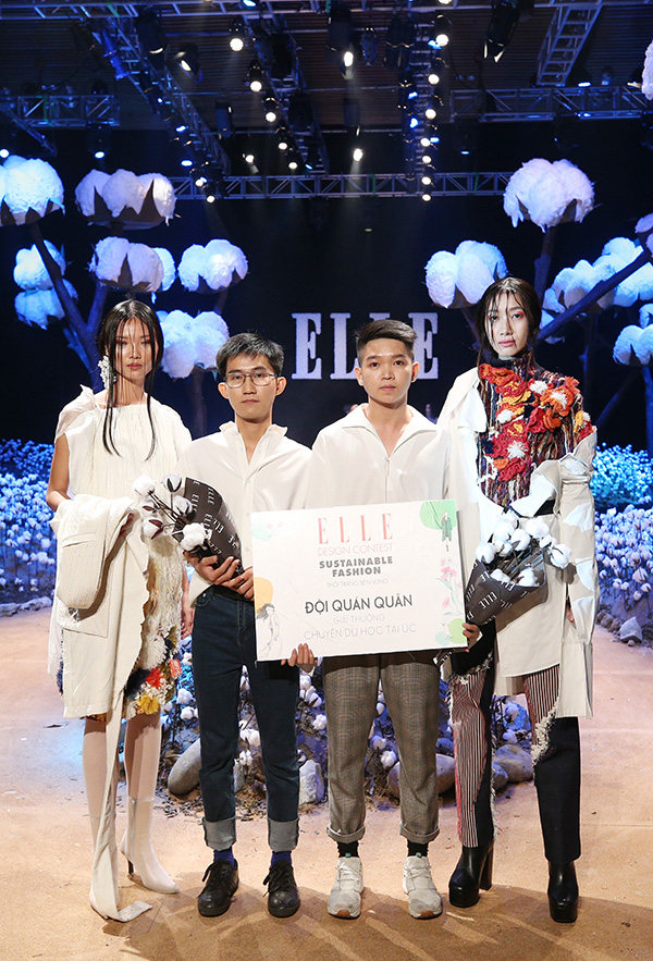 Elle Fashion Show, Bằng Lăng, Minh Triệu, Lan Khuê