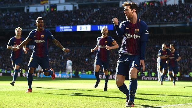 Siêu kinh điển: Barca lại thắng Real