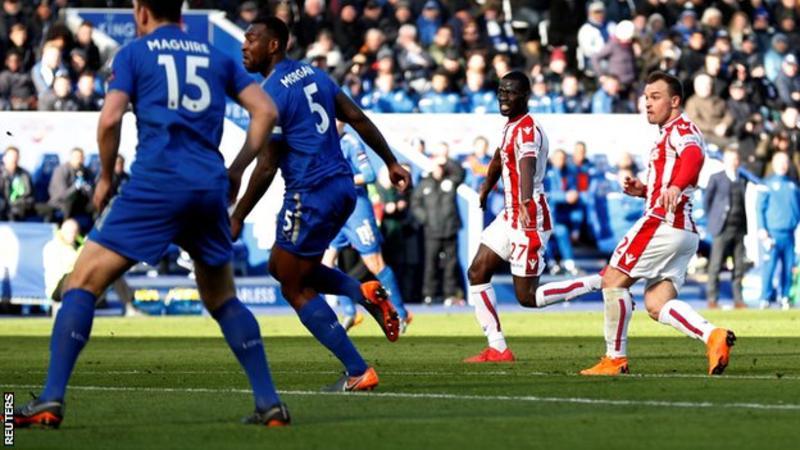 Shaqiri ghi bàn cho Stoke City
