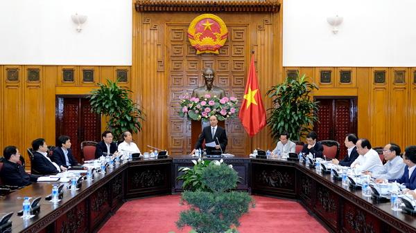 Tham dự có Thủ tướng Nguyễn Xuân Phúc, Bí thư Ban cán sự Đảng Chính phủ