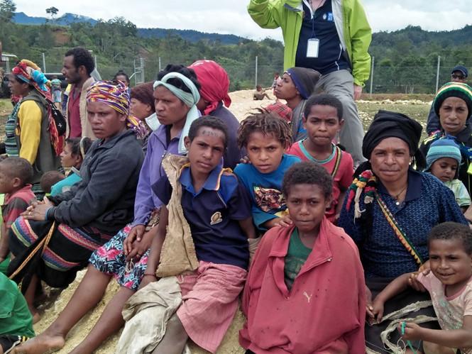 động đất,  Papua New Guinea