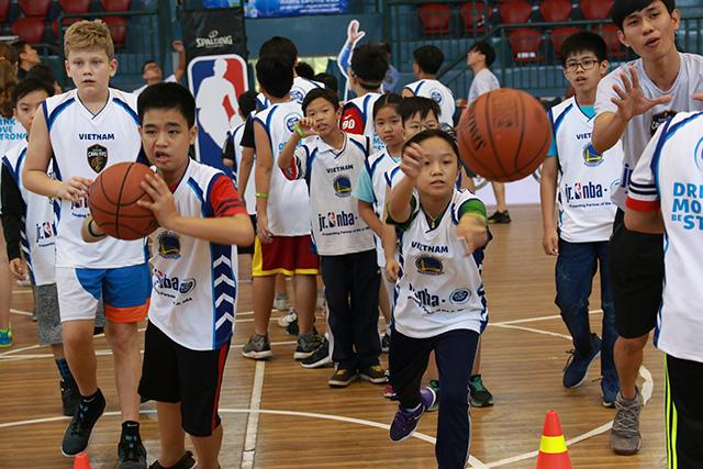 Hội trại huấn luyện bóng rổ Jr. NBA 2018