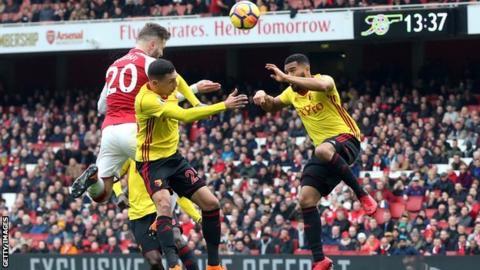Kết quả ngoại hạng Anh tối 11/3 - Arsenal đại thắng Watford, cắt đứt mạch thua
