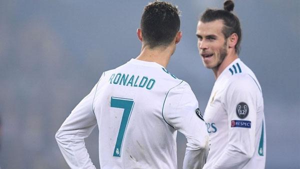 4 đội đầu tiên vào tứ kết Cup C1 Champions League 2018 Ronaldo và Gale