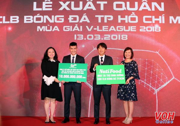 CLB TPHCM nhận nhiệm vụ vào tốp 3 V-League 2018