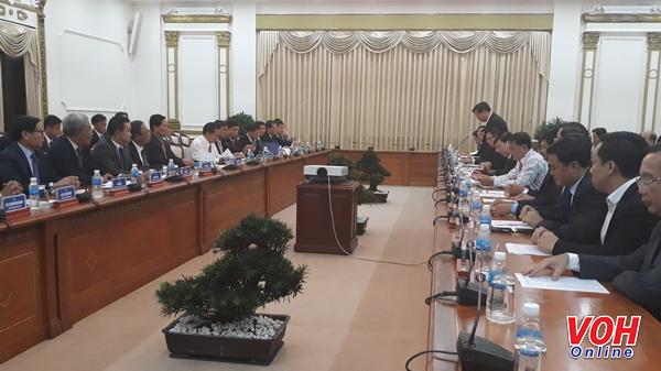 TPHCM và Phnôm Pênh đẩy mạnh hợp tác trên nhiều lĩnh vực