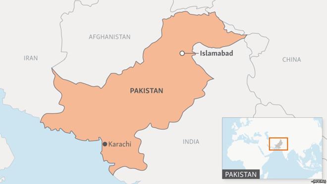 Pakistan đánh bom xe