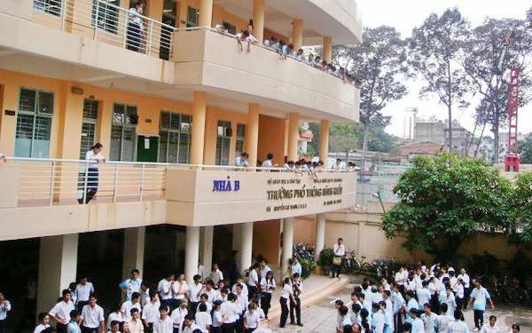 Chi tiêu tuyển sinh Trường Phổ thông Năng khiếu năm học 2018 - 2019