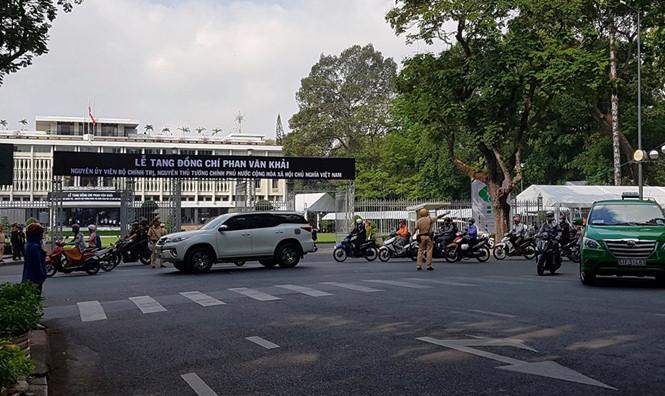 Lộ trình thay thế một số tuyến đường ở TPHCM trong 2 ngày quốc tang