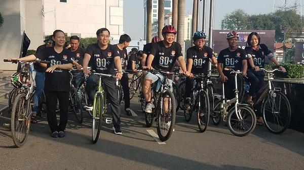 Chương trình đạp xe tuyên truyền hưởng ứng Giờ Trái đất năm 2018