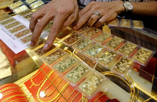 vàng được coi là một loại ngoại tệ