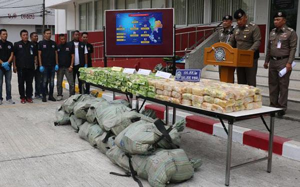 Thái Lan triệt phá đường dây buôn ma túy đá