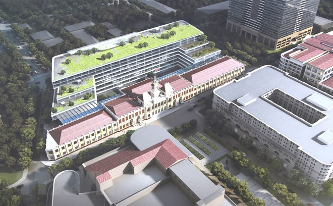 phương án thiết kế trụ sở UBND Thành phố Hồ Chí Minh