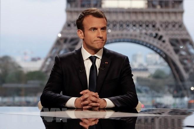 cứu trợ nhân đạo, Syria, Tổng thống Pháp, Emmanuel Macron