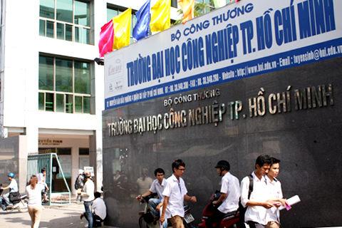 Phương thức tuyển sinh, Đại học Công nghiệp TPHCM, tuyển sinh 2018