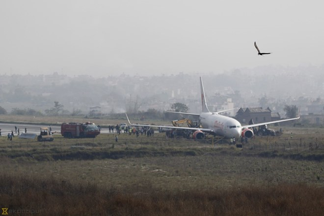 Máy bay gặp sự cố
