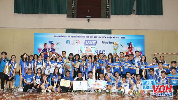 giải thể thao sinh viên Việt Nam (VUG) 2018