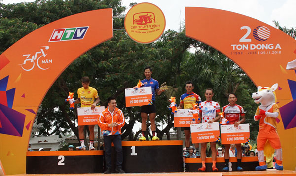Chặng 23 Cúp Truyền hình TPHCM 2018: Áo xanh Lê Nguyệt Minh lần thứ 6 thắng chặng