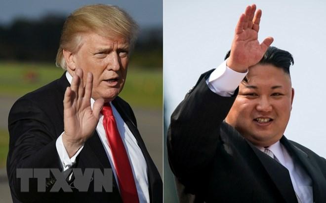 Mỹ-Triều, Tổng thống Trump, lãnh đạo Triều Tiên Kim Jong-un