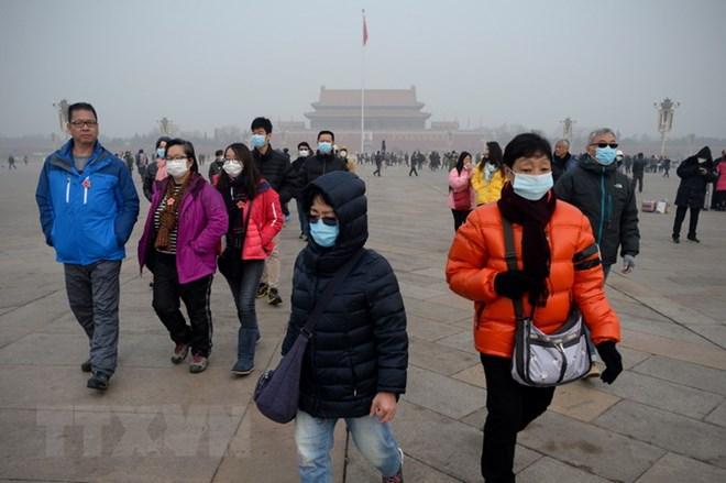 ô nhiễm không khí, Trung Quốc, bụi siêu nhỏ, siêu đô thị