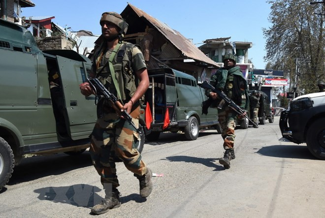 Đọ súng dữ dội tại khu vực Kashmir